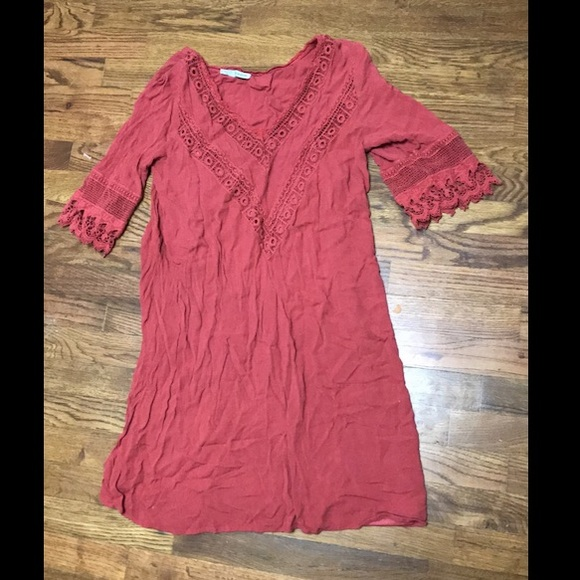 Maurices Dresses & Skirts - Rust/coral large Maurices dress.